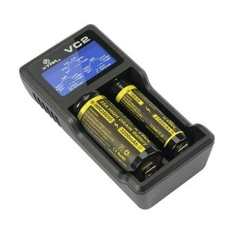 i-Unique XTAR VC2 two channel Li-ion Battery Charger (Black)