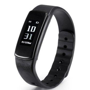 Harga I6 IWOWN HR Wristband Smart Watch Heart Rate Monitor Bluetooth 4.0Waterproof Fitness Tracker Bracelet For IOS And Android - intl