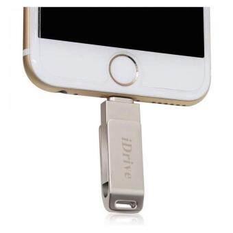 iDrive iDiskk Pro USB 2.0 64GB แฟลชไดร์ฟสำรองข้อมูล iPhoneIPad\nแบบหมุน