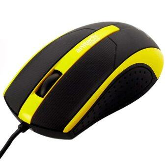 Harga Anitech Mouse Wired A532 - Yellow