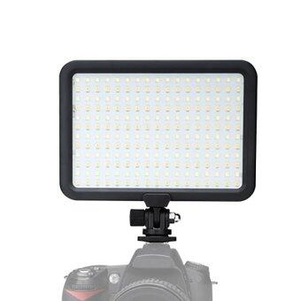 Harga Triopo Led Light Lamp 3200-5500K Dimmable for Canon Nikon Pentax DSLR Camera - intl