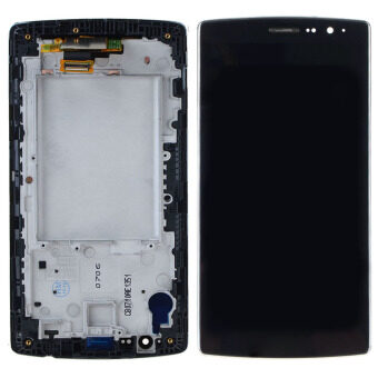 Harga For LG G4S G4 mini H736 H735 G4beat LCD Display Touch Screen Assembly Frame