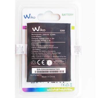 Harga แบตเตอรี่ Wiko Plup Fab 4G ( 5260 )