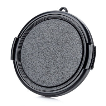 Harga 55mm Universal Plastic Lens Cap for Sony / Pentax / Fuji Camera - Black - intl