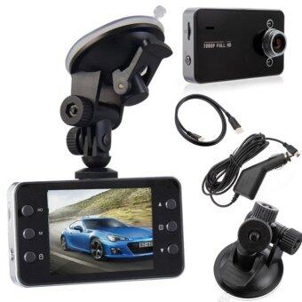 "Harga tib Car Camera กล้องติดรถยนต์ ในรถ K6000 Dvr Car DVR Night Vision Car Camera Recorder 2.7"" HD TFT Screen camrecorder"