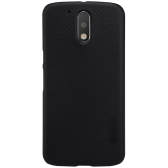 Harga Nillkin PC Matte Super Frosted Shield Back Case For Motorola MOTO G4 / MOTO G4 Plus (Black)