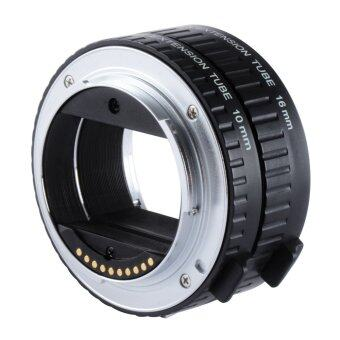 Harga Viltrox DG-NEX Auto Focus AF Extension Tube Ring 10mm 16mm Set Metal Mount for Sony E-mount Lens