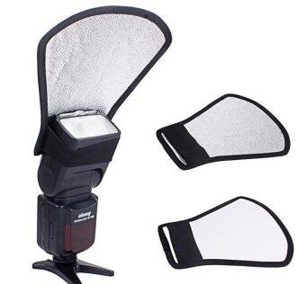 Harga Flash Diffuser Softbox Silver/white Reflector for Canon Nikon Pentax Yongnuo