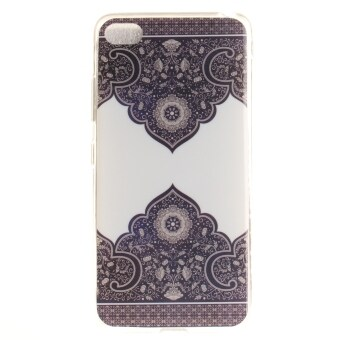 Harga Fit Soft TPU Phone Back Case Cover For Lenovo S90 Sisley S90T (Totem Pattern)