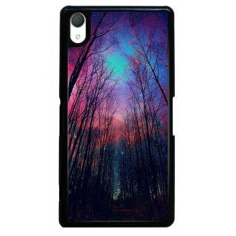 Harga Y&M Beautiful Starry Sky Design SONY Xperia Z1 Phone Case (Multicolor)
