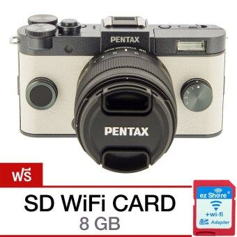 Harga Pentax Q-S1 + Lens 02 Kit - Gunmetal Cream (แถม SD wifi card 8 GB) (GM/CR/BK)