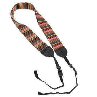 Harga Leegoal Multi Color Camera Neck Strap for Canon Nikon Sony Pentax Sigma DSLR Cameras - intl