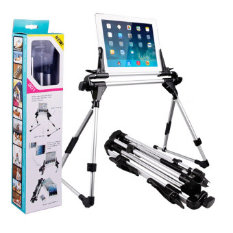 Harga Startup แท่นวาง iPad Stand/Tablet PC mount /Tablet /Holder 201 (Black/Silver)