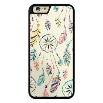 Harga Black Case phone case cover for iPhone 5/5s/SE for apple dream-catcher-seamless-pattern-native-indian-ameri - intl