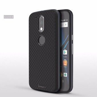 Harga ipaky Anti-skid Chequer PC Back Case Cover For Motorola Moto G4 G4 Plus - intl
