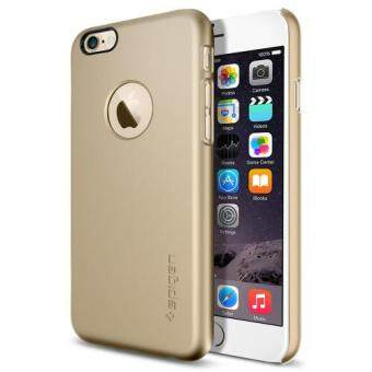 Harga SPIGEN เคส Apple iPhone 6 Plus / 6S Case Thin Fit A - Champagne gold