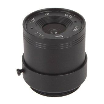 Harga 6mm / F1.6 CCTV High Definition Alloy Fixed Lens for CCTV Camera Lens CS 1/3 Inch IR