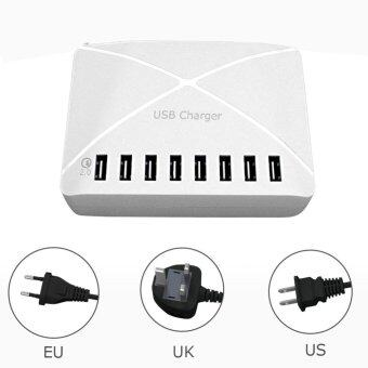 Harga 8 port usb quick charger Mobiles Acceorries Usb charger US plug - intl