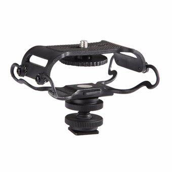 Harga BOYA BY-C10 Anti-Shake Mount Base Shock Mount for Portalbe Microphone Camcorder H-shape - intl