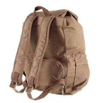 Harga Caden F5 Vintage Waterproof Canvas Camera Backpack Travel Rucksack for Canon Nikon Pentax DSLR (Coffee)