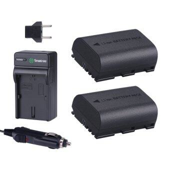 Harga Smatree Replacement Battery (2-Pack) and Battery Charger for Canon LP-E6, LP-E6N