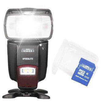 Harga INSEESI IN-560IV Wireless Flash Speedlite GN50+32GB SD Card Class 10 For Canon Nikon Pentax Panasonic Sony Cameras AS Viltrox JY680A Triopo TR-950 YONGNUO YN560III