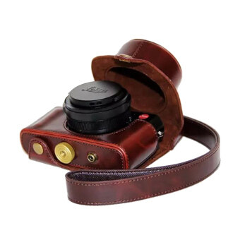 Harga PU Leather Camera Case for Leica D-Lux Typ 109 (Coffee) - intl