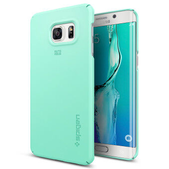 Harga SPIGEN เคส Galaxy S6 Edge Plus Case Thin Fit (Mint)