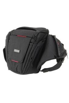 Harga Caden K3 Waterproof & Portable Nylon Camera Shoulder Bag for DSLR Canon Nikon Pentax - Black