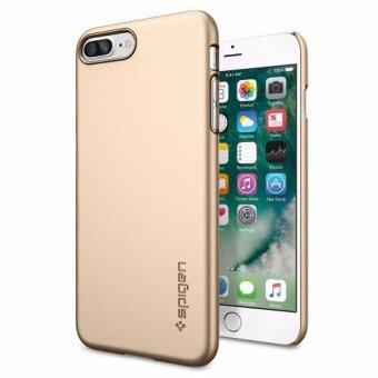Harga SPIGEN เคส Apple iPhone7 Plus Case Thin Fit : Champagne Gold