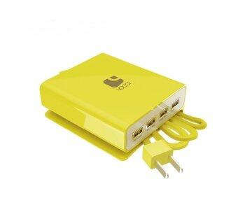 Harga LOCA 4-Port High Power USB Hub (Yellow)