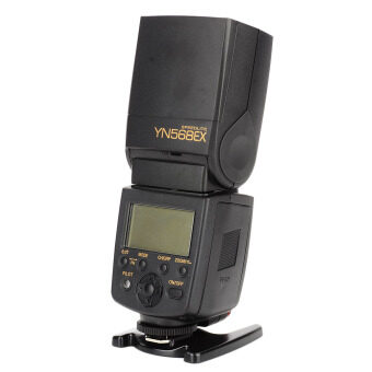 "Harga ?YongNuo YN568EX 2.0"" LCD High Speed 1/8000 Sync TTL Digital Flashgun for Nikon DSLRs Black"
