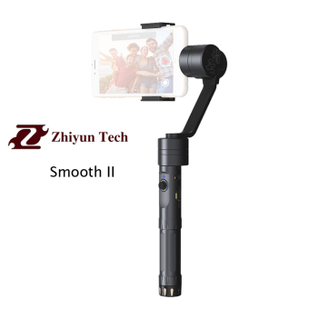 Harga Zhiyun Z1-Smooth II ( smooth2 ) 3 Axis Brushless Handheld Gimbal Stabilizer for smartphone with APP control and bluetooth control the shut button and camera focus function