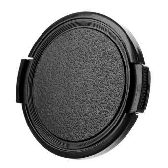 Harga 52mm Universal Plastic Lens Cap for Sony / Pentax / Fuji Camera - Black - intl