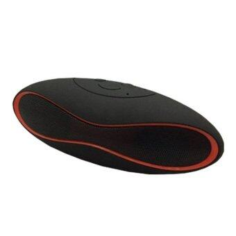 Innotech ลำโพงบลูทูธ Bluetooth Speaker Mini X6U - Black/Red (image 1)