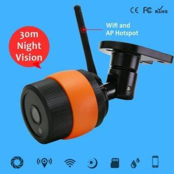 IP Camera i-Unique กล้องไร้สายไร้กระสุนกันน้ำกลางแจ้งของ ip cctv ที่สอดส่องความปลอดภัย ONVIF