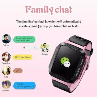 IP67 Waterproof Touch Screen kids Smart Watch LBS+GPS LocatorTracker SOS Call For iOS And Android - intl