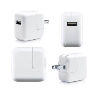 iPad Stand ที่ชาร์จ iPad USB Power Adapter ขนาด 10W For iPhone iPad Tablet Smart Phone (White) QH-525-US