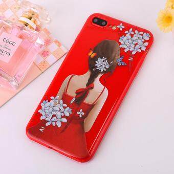 เคส iPhone 6 6s Fashion Beauty Lady figure Phone Case