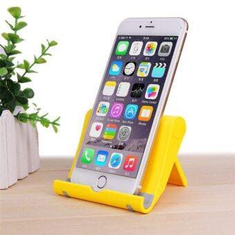 ที่วางโทรศัพท์มือถือ แท็บเล็ตบนโต๊ะแบบปรับพับได้ สำหรับiPhone iPad
