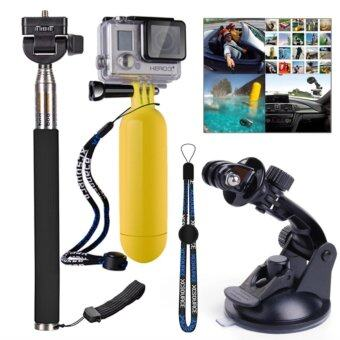 iremax XCSource Boundle Set 3-in1 Monopod + Suction Cup + Floatingfor Gopro Hero 2 3 3+ 4