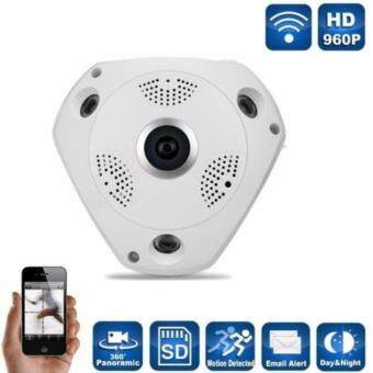 โปรโมชั่นพิเศษ JA LENG IP Camera กล้องวงจรปิด IP Camera VR 360º WiFi