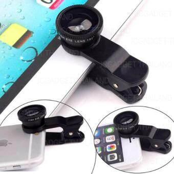 JCGADGET Clip Lens เลนส์มือถือ 3in1 ( สีดำ ) ฟรี ถุงผ้า (image 3)