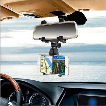 ลดราคา ตัวจับยึดอุปกรณ์มือถือในรถยนต์ เพื่อยึดกับกระจกมองหลังของรถยนต์รุ่นJHD-97