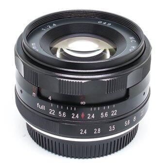 เลนส์มือหมุน Kaxinda 50MM  F2.4 For SONY (Black)