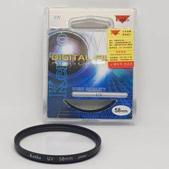 Kenko UV Filter 58 mm.
