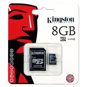 Kingston Micro SD Card Class 4 - 8GB with Adapter (image 1)
