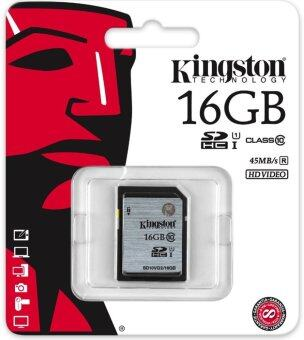 Kingston SD card SDHC/SDXC Class 10 UHS-I Card 16GB