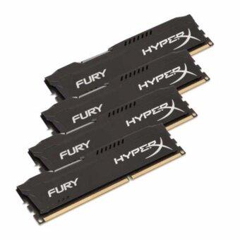 ซื้อ/ขาย Kingston16GB 2666MHz DDR4 CL16 DIMM (Kit of 2) 1Rx8 HyperX FURY Blac