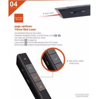 KNORVAY Wireless Presenter with Laser Pointer N26C รีโมทพรีเซนต์ไร้สายพร้อมเลเซอร์ (image 3)
